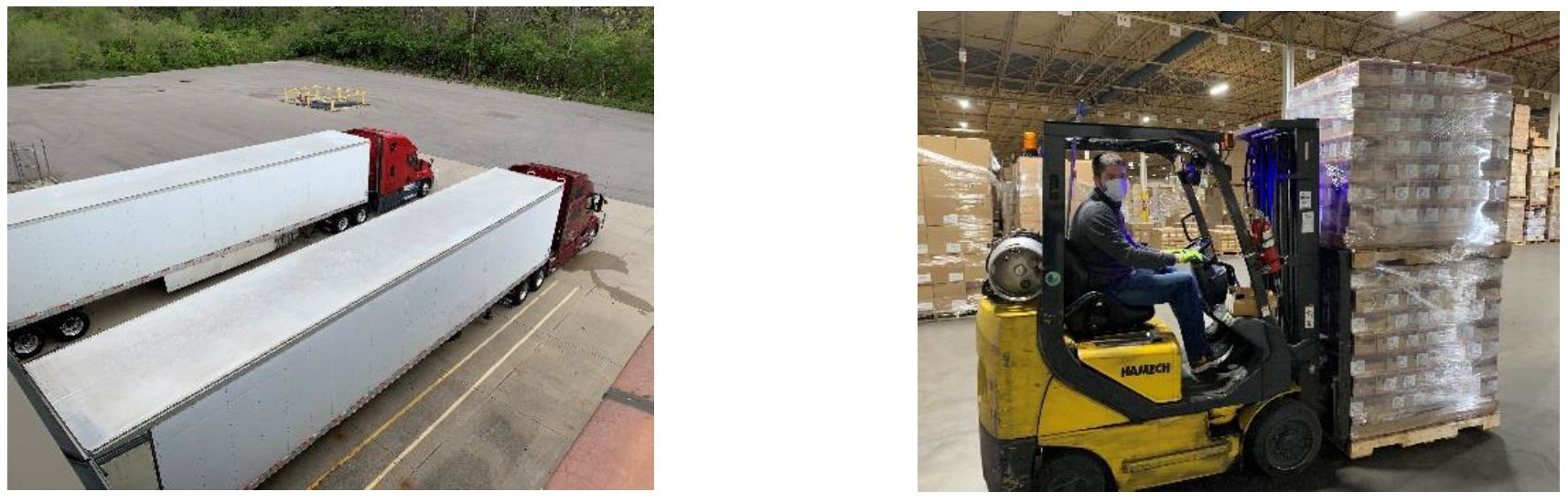 Toys for Tots Response to COVID-19 Pandemic Warehouse