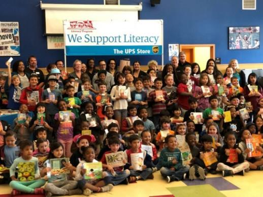 Marine Toys for Tots Literacy Program
