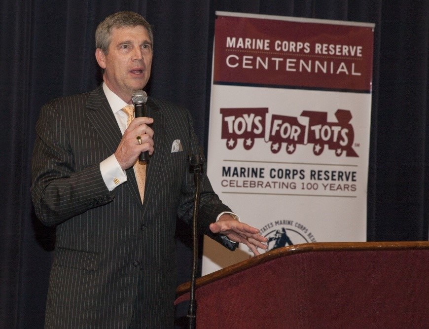 Marine Toys For Tots Evening Parade