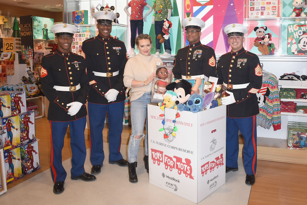 ShopDisney Disney Store Marine Toys for Tots